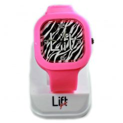 Zebra Print Hot Pink Block