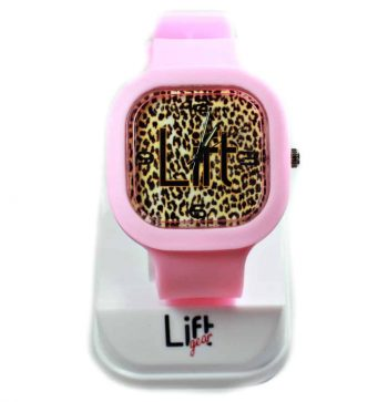 Leopard Print Light Pink Block