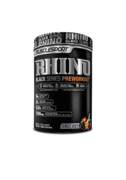 musclesport black rhino pre workout supplement