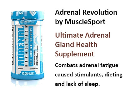 adrenal gland health musclesport