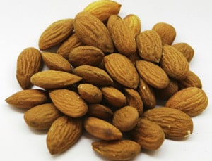 almonds testosterone food