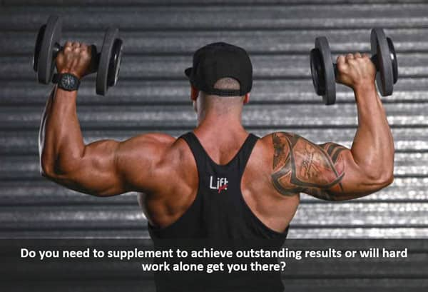 best sports supplements or hard work