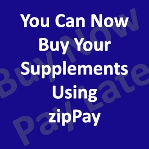 You Can Now Buy Your Supplements Using zipPay in Australia