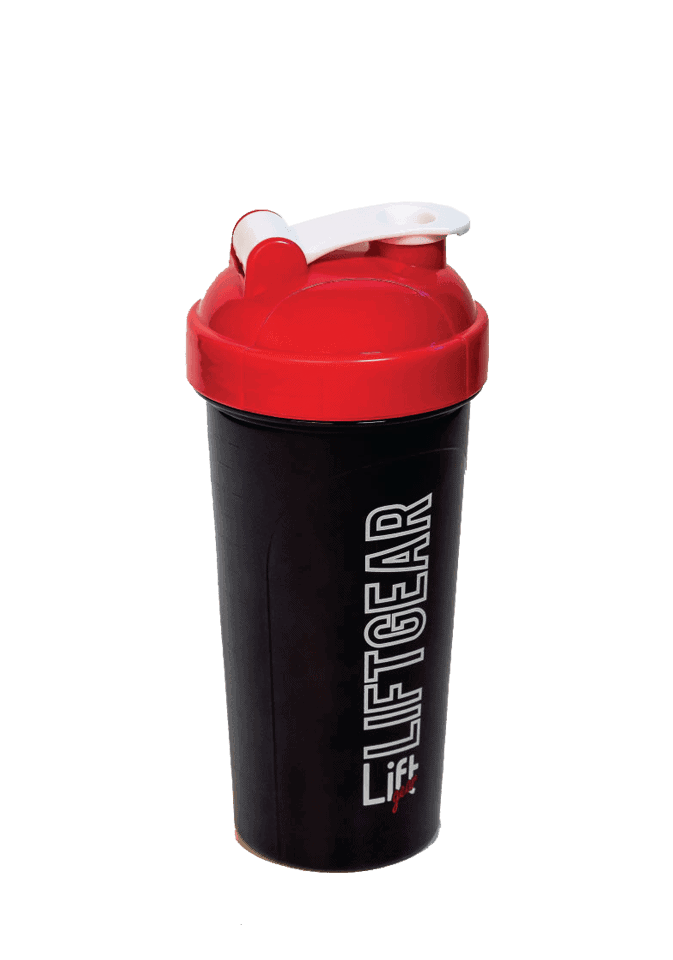 black shaker bottle lift gear