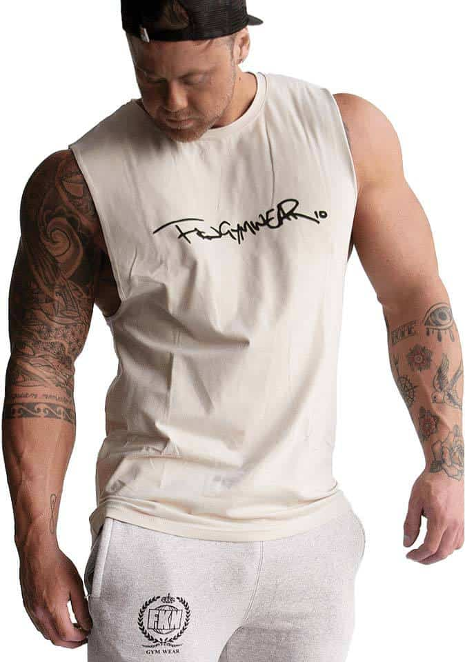 stones signature muscle tee
