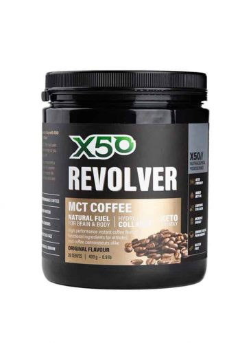 MCT coffee x50 revolver coffee
