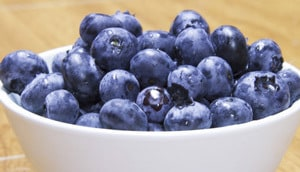 blueberry testosterone food