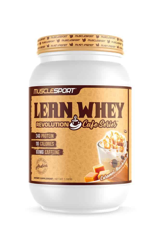 Lean Whey Protein Cafe Series by Musclesport