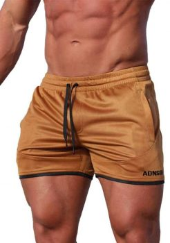 mens shorts tobacco coloured by adonis gear