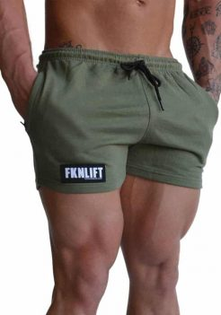 FKNLIFT khaki shorts for men