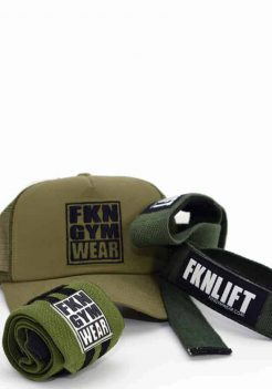 fkn lifting pack cap straps wraps