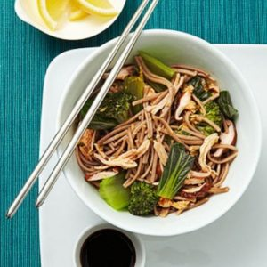 chicken soba recipe