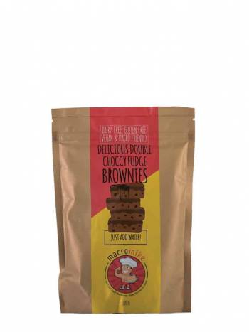 macro mike brownie mix choc