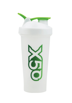 x50 shaker bottle white colour