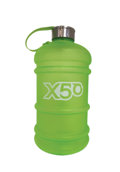 bpa free gym water bottle x50 green