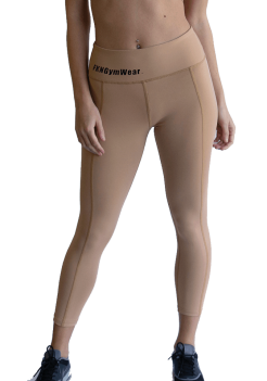 Women's DTF Nude Gym Tights by FKN Gym Wear