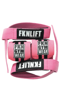 Lifting Wrist Straps and Wraps Pack