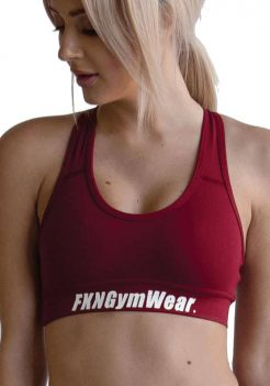 Women's Gym Crop Top - DTF Varsity by FKN
