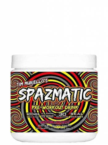 Spazmatic supplement by Tim Muriello