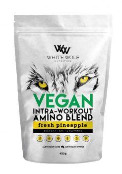 Vegan Intra Workout Amino Blend BCAA by White Wolf Nutrition