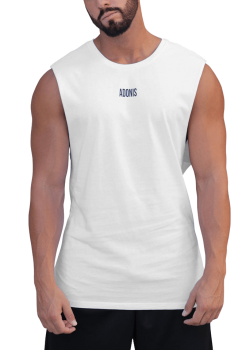 Adonis Muscle Tank White