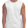Essential White Muscle Tank Adonis Gear