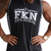 Men's FKN Basketball Jersey Singlet in Black