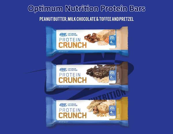 best protein bars from Optimum nutrition