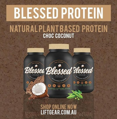 clear vegan blessed protein pea