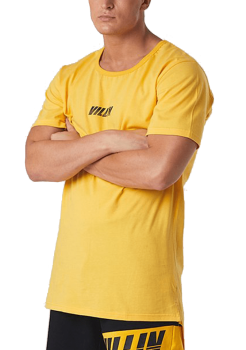 Brick City Villin Drop Tail Yellow Tee