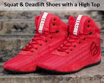 52d314a799f8 Best Shoes For Squats Deadlifts with a High Top for Comfort