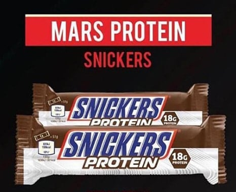 snickers protein bar healthy snack