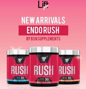 endo rush bsn supplements